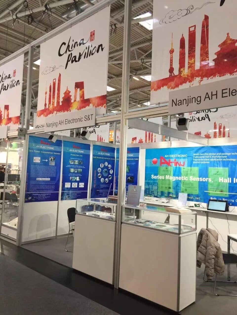 We attended Munich Electronic Components Exhibition