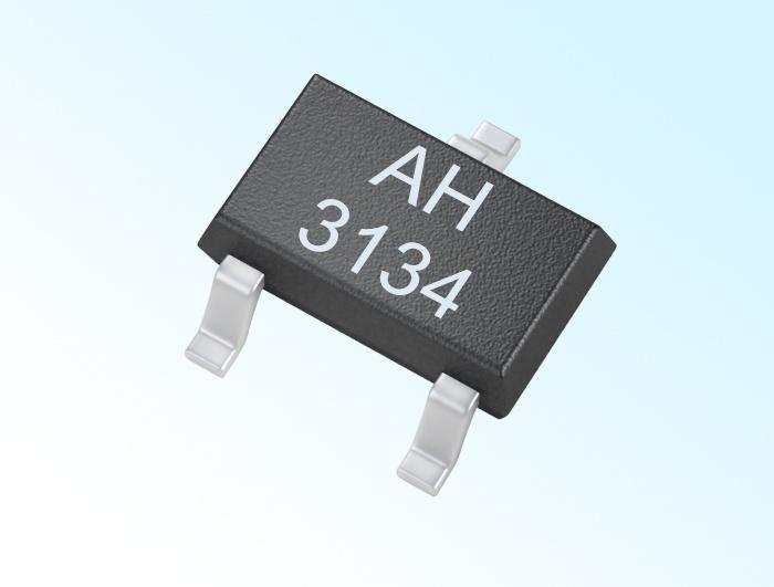 Digital Unipolar Hall IC AH3134